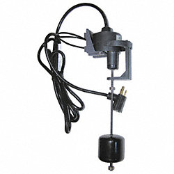 Float Switch, Vertical, 1/2 HP, Cord 8 Ft