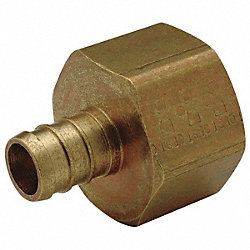 PEX  Adapter, Barb Female NonSwivel, 1In