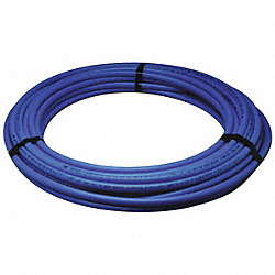 PEX Tubing, Blue, 1/2In, 100Ft, 100psi