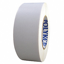 Film Tape, Polyethylene, White, 48mm x 55m
