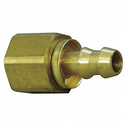Hydraulic Hose Fitting, Straight, 1/2