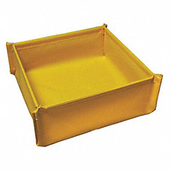 Spill Tray, 4-3/4 In. H, 48 In. L, 48 In. W