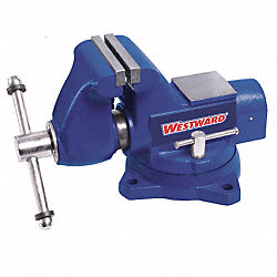 Bench Vise, Combo Pipe/Bench, Swivel, 4-1/2