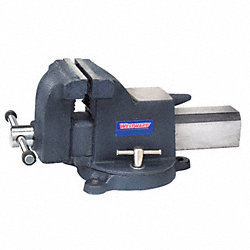 Bench Vise, Utility, Swivel, 6 In