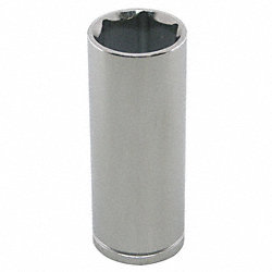Socket, Deep, 1/2 In Dr, 6 Pts, 20mm