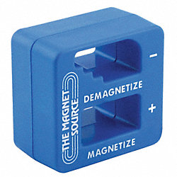 Magnetizer/Demagnetizer, 1 x 2 In, Ceramic