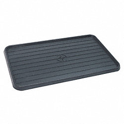 Spill Tray, 3/4 In. H, 15 In. L, 25 In. W