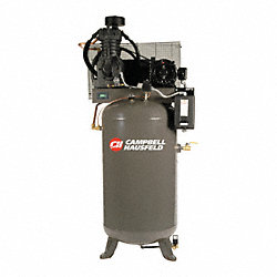 Air Compressor, 5HP, 80G, 175PSI, 16.6CFM