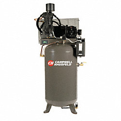 Air Compressor, 7.5HP, 80G, 175PSI, 24.3CFM