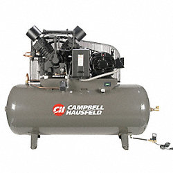 Air Compressor, 15HP, 120G, 175PSI, 50CFM