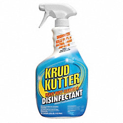 Cleaner and Disinfectant, Size 32 oz.