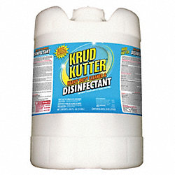 Cleaner and Disinfectant, Size 5 gal.