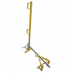 Parapet Clamp Guardrail Systm, 3-1/2Ft. L