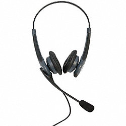 Corded Headset, w/Cushion, Binaural