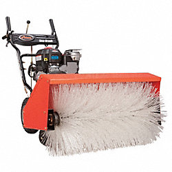 Power Brush Sweeper, 28 In. 169cc Engine
