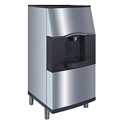 Ice Dispenser, 30 In Wide, 180 Lbs