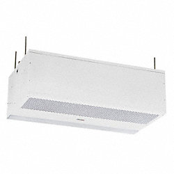 Recessed Air Curtain, 3475 fpm, 26 In. D