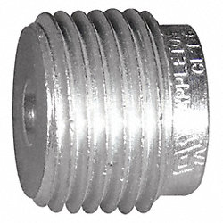 Reducing Bushing, Haz, Alum, 2-1/2 to 2In