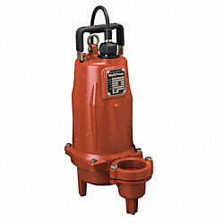 Submersible Pump, 2 HP, 208-230V, 3-Phase