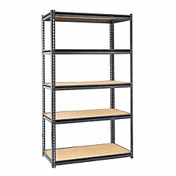 Boltless Shelving Starter, 48x24, 5 Shelf