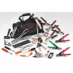 HVAC Deluxe Tool Kit, 30 Pc