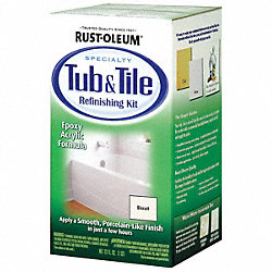 Tub/Tile Refreshing Kit, Biscuit, Epoxy