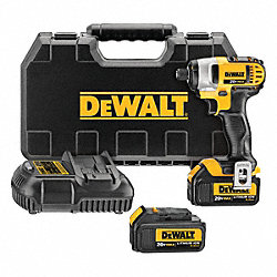 Cordless Impact Driver Kit, 20V, 1/4 In.