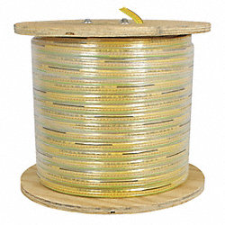 Flat Festoon Cable, PVC, 10/4c, 70 Ft L