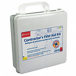 Contractors First Aid Kit, 50 Prsn, 237 Pc
