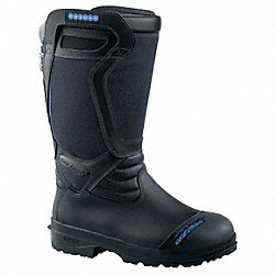 Ins Struct Fire Boots, Mens, 9-1/2EW, 1PR