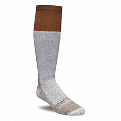 Outdoor, Socks, Mid-Calf, Mens, L, Brown, 1 Pr