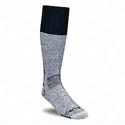 Outdoor, Socks, Mid-Calf, Mens, L, Navy, 1 Pr
