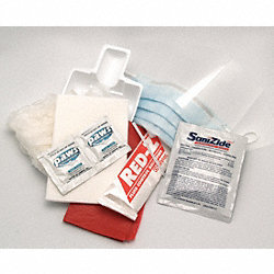 Biohazard Spill Kit, Infectious Waste Bag