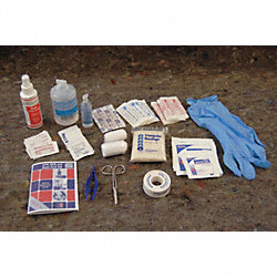 First Aid/Burn Kit Refill, 138 Unit