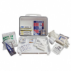 First Aid Kit, Weatherproof, Med, 101 Unit