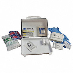 First Aid Kit, Weatherproof, Small, 93 Unit