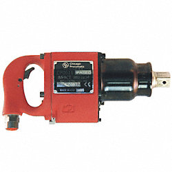 Air Impact Wrench, 1 In. Dr., 3500 rpm