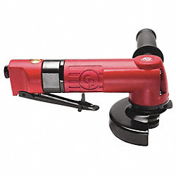 Air Angle Grinder, 9-1/3 In. L, 12, 000 rpm