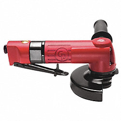 Air Angle Grinder, 12, 000 rpm, 9-1/3 In. L