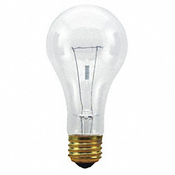 Incandescent Light Bulb, A21, 150W