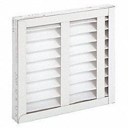 Pleated Filter, 20 In. W, 4 In. D, 20 In. H