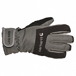 Cold Protection Gloves, XL, Gray, PR
