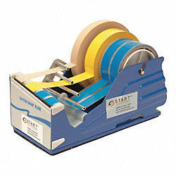 Multi Roll Tape Dispenser, Blue, 4 In. W