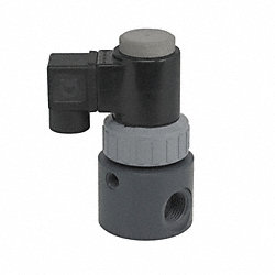 Solenoid Valve, 2 Way, NC, 1In NPT