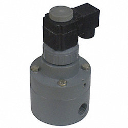 Solenoid Valve, Pilot, 2 Way, 1/2In NPT