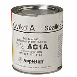 Sealing Cement, 16 Oz