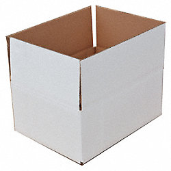 Shipping Carton, Single, Kraft, 4 In. L