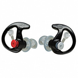 Ear Plugs, 24dB, w/o Cord, Lrg, PR