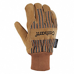 Cold Protection Gloves, L, Brown, PR