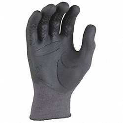 Mechanics Gloves, Gray, L/XL, PR